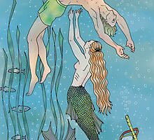 The Mermaid and the Prince by Catie Atkinson