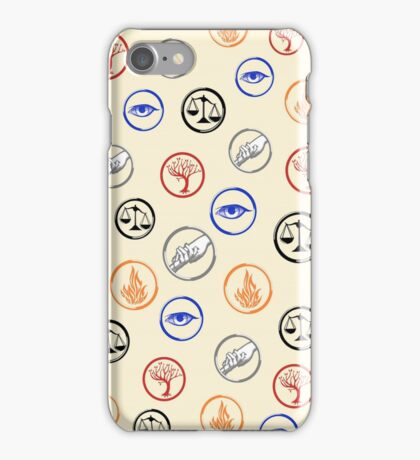 The Factions iPhone Case/Skin