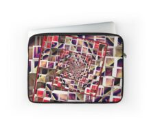 Infinite Rotating 3D Cubes Laptop Sleeve