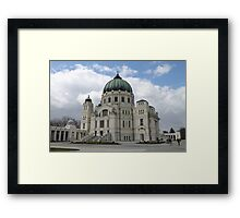 Charles Borromeo Church, Vienna Austria Framed Print