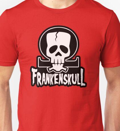 FrankenSkull New Ohm Logo Big Unisex T-Shirt