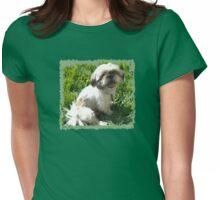 Lexi - Shih Tzu Womens Fitted T-Shirt