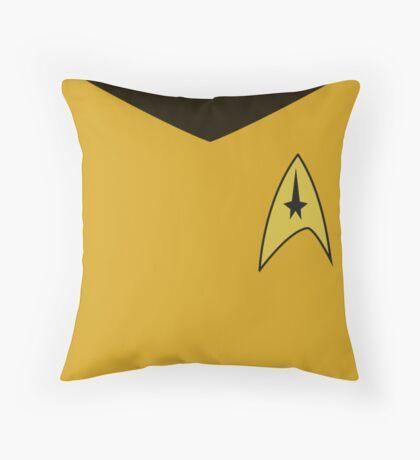 Captain's Log Throw Pillow