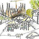 Sagrada Familia - Barcelona - www.cycleyourheartout.com by Sarah  Bayaidah