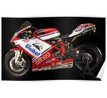 Ducati - World Superbike Champions - Carlos Checa Poster