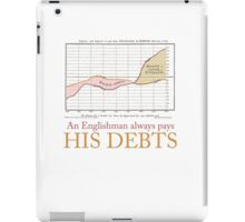 William Playfair: An Englishman Always Pays His Debts iPad Case/Skin