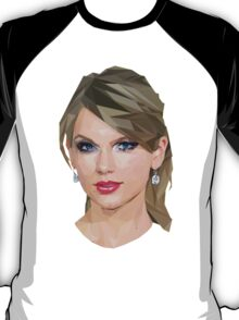 Taylor Swift - LowPoly Portrait T-Shirt