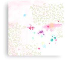 Catch a flower  Canvas Print