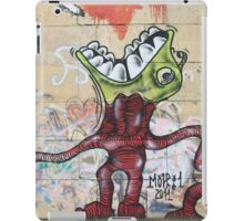 Weird Graffiti Monster iPad Case/Skin