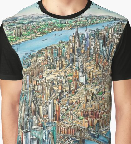 Manhattan Graphic T-Shirt