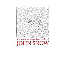 "Phone case: ""You know nothing (about cholera), John Snow"" by Alberto Cairo"