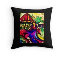 palm creek princess Throw Pillow