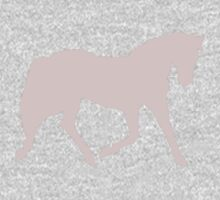 soft pink horse Kids Clothes