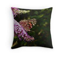 Moth016 Throw Pillow