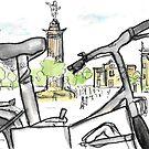 Columbus Monument, Barcelona - www.cycleyourheartout.com by Sarah  Bayaidah