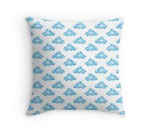 Diamond Clouds in the Sky Pattern Throw Pillow