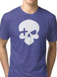 High Noon (White) Tri-blend T-Shirt