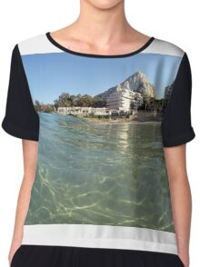 Calpe from the water Chiffon Top