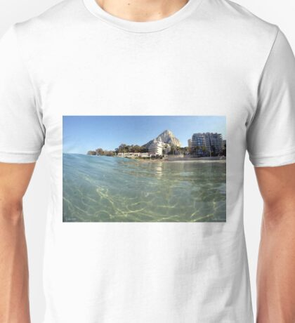 Calpe from the water Unisex T-Shirt
