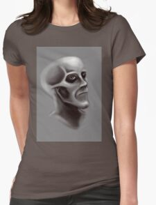 Shallow Mood Womens Fitted T-Shirt