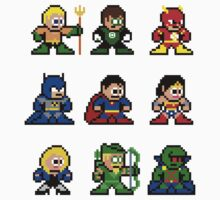 8-bit Justice League 9 by groundhog7s