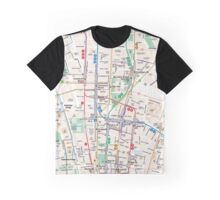 Map manhattan Graphic T-Shirt