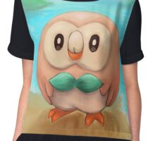 Rowlet Fan Art Chiffon Top