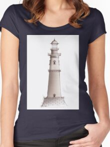 lighthouse 18, tony fernandes Women's Fitted Scoop T-Shirt