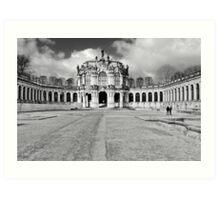 Zwinger Dresden Rampart Pavilion Art Print