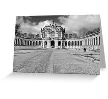 Zwinger Dresden Rampart Pavilion Greeting Card
