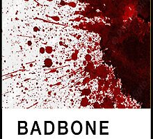 Bad Bone (Pantone) Blood 666 by bexsimone