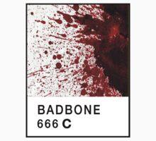 Bad Bone (Pantone) Blood 666 T-Shirt