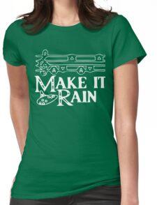 Legend of Zelda - Rain Song Womens Fitted T-Shirt