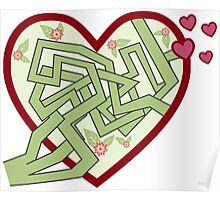 Love maze Poster