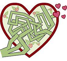 Love maze Photographic Print