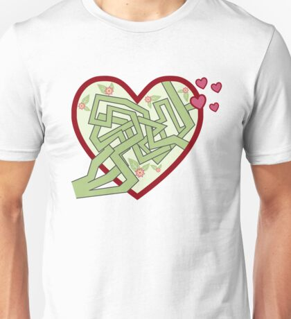 Love maze Unisex T-Shirt