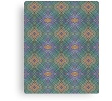 Knitting Pattern Canvas Print