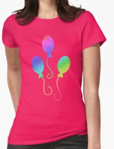 MLP - Cutie Mark Rainbow Special - Pinkie Pie Womens Fitted T-Shirt