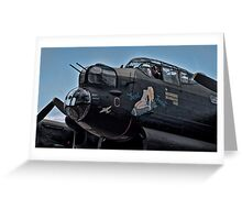 Lancaster Bomber 'Just Jane' Greeting Card