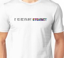 I'm in fact straight (different sexualities) Unisex T-Shirt