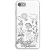Living room - Magical home iPhone Case/Skin
