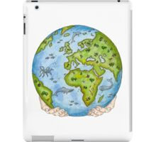 Our Earth in Your Hands iPad Case/Skin