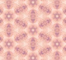 Pink Tiles Pattern Sticker