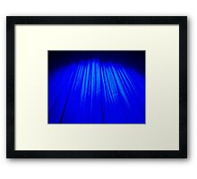 Theatre curtain Framed Print