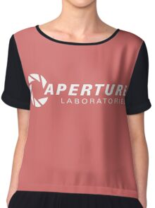 aperture laboratories logo  Chiffon Top