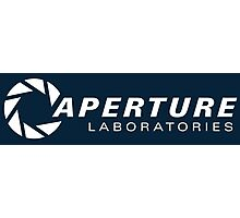 aperture laboratories logo  Photographic Print
