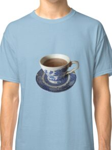 Willow pattern tea cup Classic T-Shirt