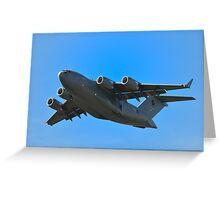 Boeing C-17A Globemaster III Greeting Card