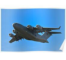 Boeing C-17A Globemaster III Poster