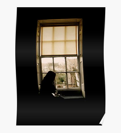 At the window Poster
